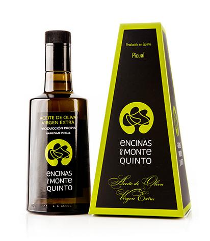 Envase aceite de oliva virgen Extra Encinas de Montequinto